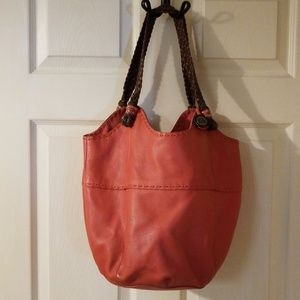 The Sak Leather Hobo Bag